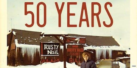 50th Anniversary & VIP Card Party w/ Mechanical Bull -DJ FattieB tickets