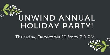 Unwind Annual Christmas Party! tickets