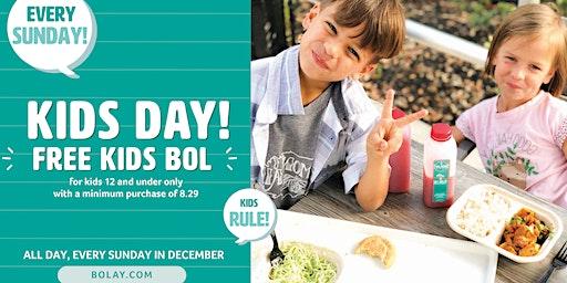 Sunday Funday Kids Eat Free!