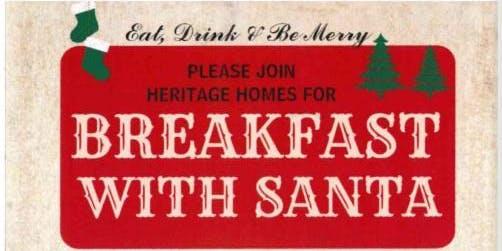 Heritage Homes Breakfast with Santa