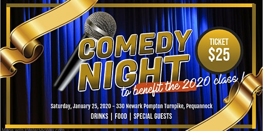 Comedy Night FEATURING RICHIE BYRNE & JOSEPH ANTHONY