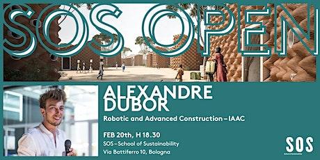 SOS OPEN – Alexandre Dubor biglietti