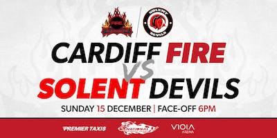 Cardiff Fire vs Solent Devils