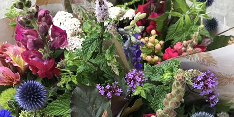 Midsummer Handtied Bouquet Workshop tickets