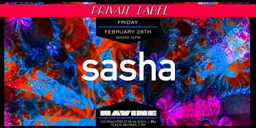 Private Label: Sasha at Ravine