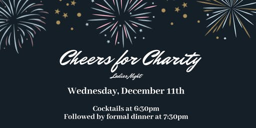 Cheers for Charity Dinner Party