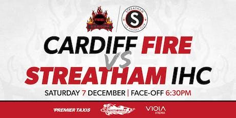 Cardiff Fire vs Streatham IHC tickets