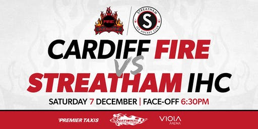 Cardiff Fire vs Streatham IHC