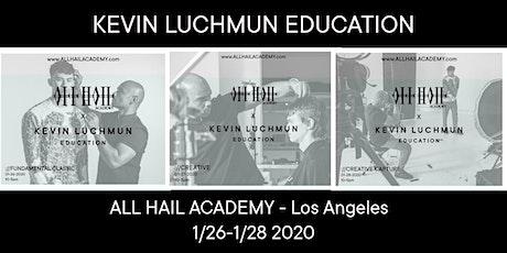 KEVIN LUCHMUN Education   X   All Hail Academy tickets