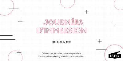 Journée d'Immersion ISEG