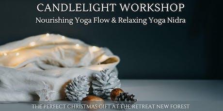 FESTIVE YOGA WORKSHOP - Candlelit Flow & Yoga Nidra tickets