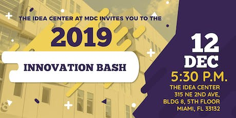 Innovation Bash 2019 tickets