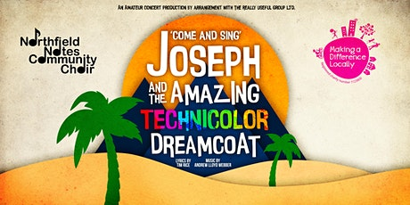 'Come and Sing': Joseph and the Amazing Technicolor Dreamcoat tickets