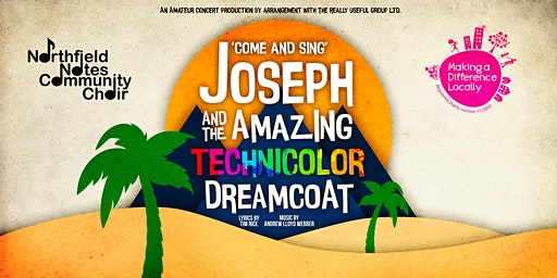 'Come and Sing': Joseph and the Amazing Technicolor Dreamcoat