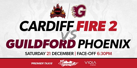 Cardiff Fire 2 vs Guildford Phoenix tickets