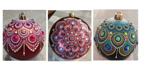 Holiday Ornament Painting Workshop tickets