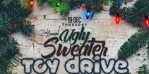 Ugly Sweater Toy Drive