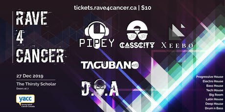 Rave 4 Cancer tickets