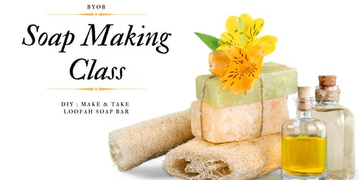 Loofah Soap Making Class
