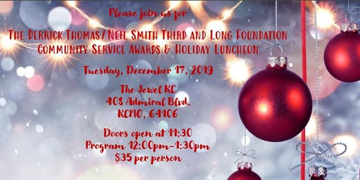 2019 Holiday Luncheon and Community Service Awards