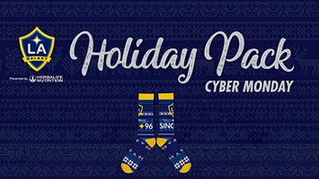 LA Galaxy Soccer - Holiday Pack