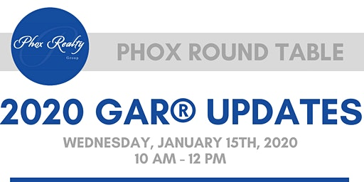 2020 GAR® Updates - Phox Round Table