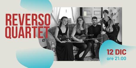 Reverso Quartet | Viaggio ai confini dell'Europa biglietti