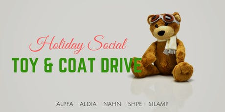 Holiday Social - Toy & Coat Drive tickets