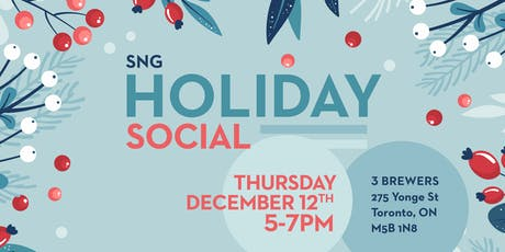 SNG Holiday Social tickets