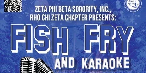 Rho Chi Zeta Fish Fry & Karaoke