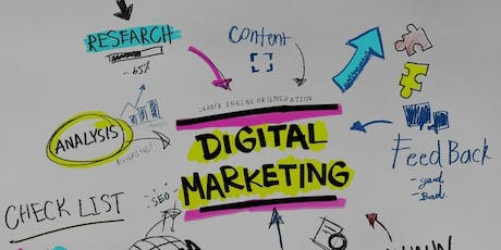 Curso Marketing Digital bilhetes