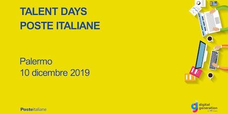 Talent Day Poste Italiane / Palermo biglietti