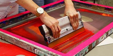 Screenprinting Workshop with Look Up + Screen Grab's Josie Blue Molloy tickets
