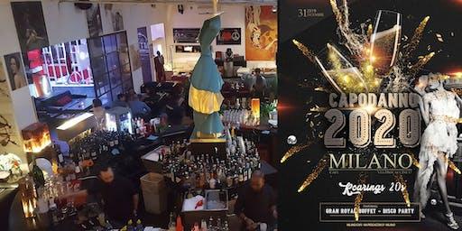 Capodanno 2020 al Milano Cafe ✆ 3355290025