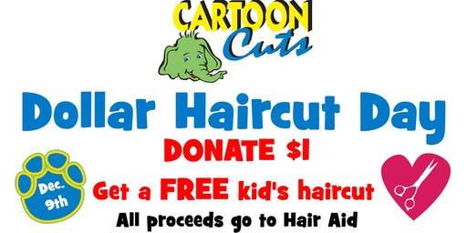 Dollar Haircut Day - Haircuts for Hair Aid