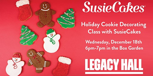 Holiday Cookie Decorating Class at Legacy Hall