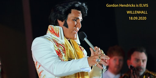 Gordon Hendricks is ELVIS in Willenhall