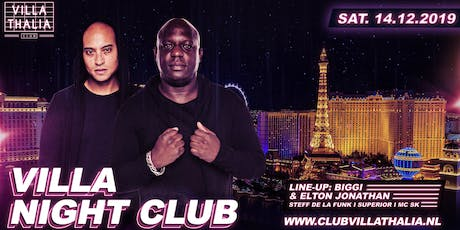 Villa Night Club: Biggi & Elton Jonathan tickets