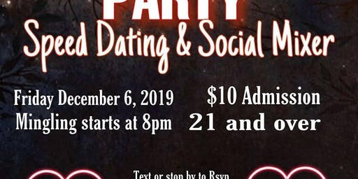 Singles Speed Dating and Social Mixer Party