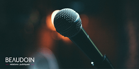 Prendre la parole en public : à vous de jouer ! - 29 janvier 2020 billets