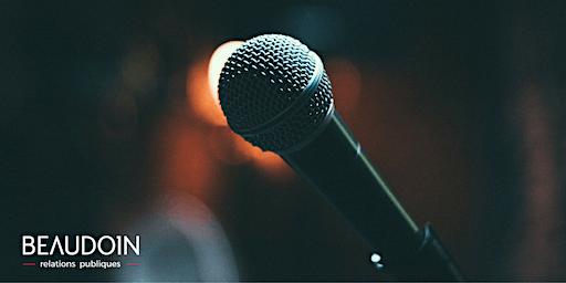 Prendre la parole en public : à vous de jouer ! - 29 janvier 2020