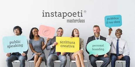 Corso di scrittura creativa & public speaking biglietti