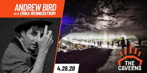 Andrew Bird in The Caverns with Erika Wennerstrom