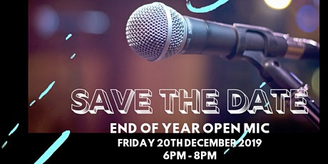 End of Year Open Mic! tickets