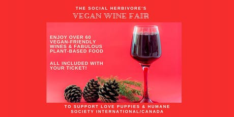 Toronto's FIRST-EVER Vegan Wine Fair tickets