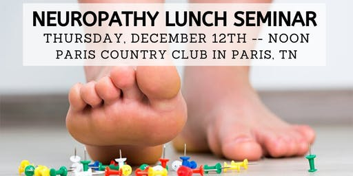 Free Neuropathy Solutions Lunch, hosted by IMAC - Dec. 12