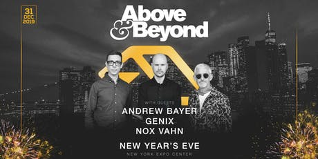 Above & Beyond NYE 2020 tickets
