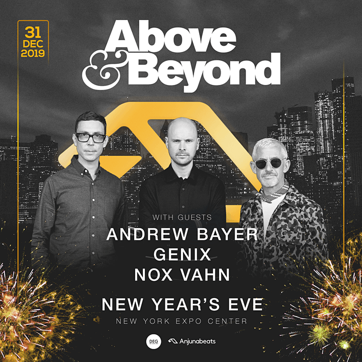Above & Beyond NYE 2020 image