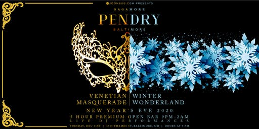 Sagamore Pendry Baltimore New Years Eve 2020 Party
