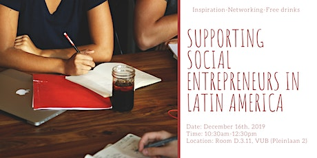 Supporting Social Entrepreneurs in Latin America tickets